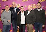 Marc Shaiman, Scott Wittman, Joshua Bergasse, Jack O'Brien and David Greig attend the ''Charlie and the Chocolate Factory' Cast Photo Call at the New 42nd Street Studios on February 21, 2017 in New York City.