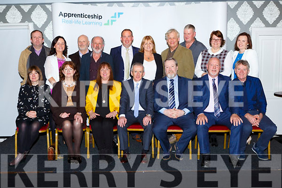 Kerry ETB members at the aAdvanced Certificate Craft Presentation Ceremony in the Killarney Heights Hotel on Friday evening