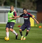 Martyn Waghorn and Jason Holt