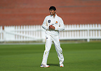 Wellington's Rachin Ravindra preapres to bowl during day two of the Plunket Shield cricket match between the Wellington Firebirds and Otago Volts at the Basin Reserve in Wellington, New Zealand on Tuesday, 22 October 2019. Photo: Dave Lintott / lintottphoto.co.nz