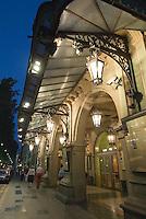 Spanien, Barcelona, Theater Gran Teatre del Liceu an der Rambla 51-59