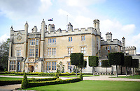 A general view of Farleigh House. Bath Rugby training session on May 3, 2016 at Farleigh House in Bath, England. Photo by: Patrick Khachfe / Onside Images