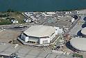 Arena Olimpica do Rio (HSBC Arena),<br /> APRIL 6, 2016 : A general view of the Arena Olimpica do Rio (Rio Olympic Arena) in Rio de Janeiro, Brazil.<br /> (Photo by Hitoshi Mochizuki/AFLO)