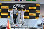Podium - Nico Rosberg (GER), Mercedes GP - Lewis Hamilton (GBR), Mercedes GP - Felipe Massa (BRA), Williams GP<br />  Foto &copy; nph / Mathis