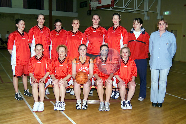 Tolka Rovers Basketball team..Picture Fran Caffrey Newsfile.