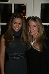 Chrishell Stause and Marcia Tovsky at a benefit for American Lung Association on December 6, 2009 at Mezza on the Green at the Lawrence Country Club. (Photos by Sue Coflin/Max Photos)
