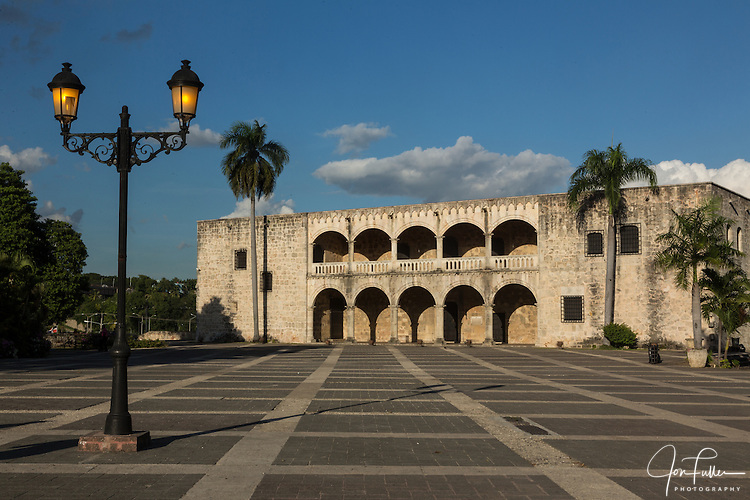 Governor's Mansion Of Diego Columbus In The Colonial City