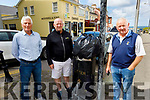 Local business people in Ballybunion are calling on Kerry County Council to install more rubbish bins and to reopen the refurbished toilets and to provide hand sanitisers there, for the rest of summer season.<br /> Standing l to r: Noel Nash (Chairperson Ballybunion Tidy Towns), Ger Walsh (Ballybunion News)  and Noel Nash (Chairperson Ballybunion Tidy Towns) and Donal Liston.