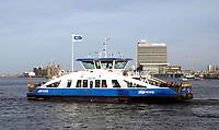 Nederland  - Maart 2019.  IJ-veer 54  van Amsterdam naar Amsterdam-Noord.  Foto Berlinda van Dam / Hollandse Hoogte