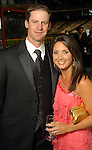 Roy Oswalt and his wife Nicole at the Astros Wives Gala at Minute Maid Park Thursday Aug. 06, 2009.(Dave Rossman/For the Chronicle)
