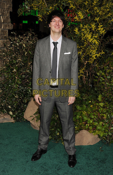 "Darren Lemke.""Jack The Giant Slayer"" Los Angeles Premiere held at Grauman's Chinese Theatre, Hollywood, California, USA..February 26th, 2013.full length black grey gray tie white shirt suit.CAP/ROT/TM.©Tony Michaels/Roth Stock/Capital Pictures"