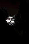 Matsue Castle is lit up at night in central Matsue City, Shimane Prefecture, Japan on 26 June 2011. The castle, which took 5 years to build and was completed in 1611, is the second largest of Japan's 12 remaining castles..Photographer: Robert Gilhooly