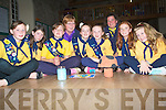 PROMOTATION: Promoted from brownies to girlsguilds on Thursday evening in the Columbus Hall Kilflynn, with their leaders were, L-r: Jennifer Leonard, Emily O'Callaghan, Oliva Carmody, Mary O'Callaghan (leader), Chloe Leonard, Alys Griffin, Maria O'Sullivan(leader), Sarah Buckley and Kelly Tobin.  .........