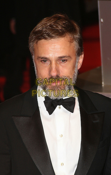 CHRISTOPH WALTZ.Arrivals at the Orange British Academy Film Awards 2010 at the Royal Opera House, Covent Garden, London, England..February 21st, 2010.BAFTA BAFTAs headshot portrait black white bow tie beard facial hair.CAP/JIL.©Jill Mayhew/Capital Pictures