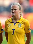 Sara Larsson, Sweden-Russia, Women's EURO 2009 in Finland, 08252009, Turku, Veritas Stadium.