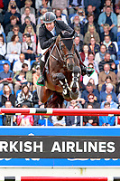 IRL-Cian O'Connor rides Good Luck during the Rolex Grand Prix Springprüfung - Der Große Preis von Aachen. 2017 GER-CHIO Aachen Weltfest des Pferdesports. Sunday 23 July. Copyright Photo: Libby Law Photography