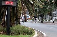 CAMPINAS, SP 05.07.2019 - CLIMA - Termometros marcam 14 graus na tarde desta sexta-feira (5) na cidade de Campinas (SP). (Foto: Denny Cesare/Código19)