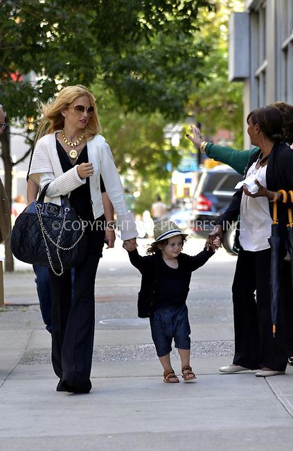 WWW.ACEPIXS.COM<br /> <br /> September 13 2013, New York City<br /> <br /> TV personality and designer Rachel Zoe walks in Soho with her son Skyler Berman on September 13 2013 in New York City<br /> <br /> By Line: Curtis Means/ACE Pictures<br /> <br /> <br /> ACE Pictures, Inc.<br /> tel: 646 769 0430<br /> Email: info@acepixs.com<br /> www.acepixs.com