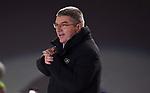 IOC president Thomas Bach. Opening Ceremony. Pyeongchang2018 winter Olympics. Olympic stadium. Pyeongchang. Republic of Korea. 09/02/2018. ~ MANDATORY CREDIT Garry Bowden/SIPPA - NO UNAUTHORISED USE - +44 7837 394578