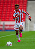 4th July 2020; Bet365 Stadium, Stoke, Staffordshire, England; English Championship Football, Stoke City versus Barnsley; Tyrese Campbell of Stoke City