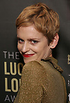 Denise Gough attends the 33rd Annual Lucille Lortel Awards on May 6, 2018 in New York City.