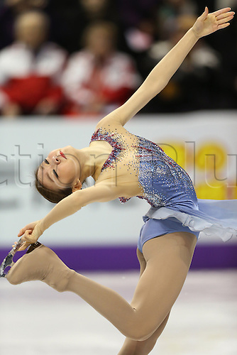 14.03.2013. London, Canada. Kim Yu-NA (KOR), ISU World Figure Skating Championships 2013, Women's Short Program at Budweiser Gardens, London, Canada. .