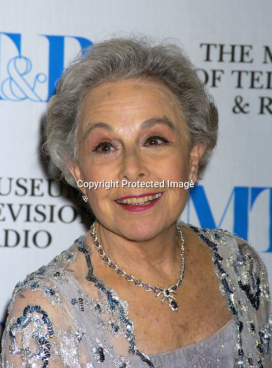 Marge Champion..at The Museum of TV and Radio New York Gala  honoring  Merv Griffin on May 26, 2005 at The Waldorf Astoria Hotel...Photo by Robin Platzer, Twin Images