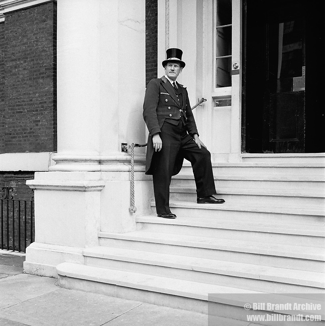 Porter at The Albany London, 1940s