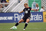 30 August 2009: Lori Chalupny (17)(STL) of the WPS All-Stars.  The WPS All-Star team defeated the visiting Umea IK 4-2 in the first annual post season All-Star game of the Women's Professional  Soccer league at Anheuser-Busch Soccer Park, in Fenton, MO.