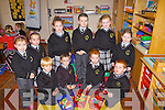 First day back for the boys and girls of Scoil Mhuire NS, Brosna, who started school last Thursday morning...++No Names Policy++