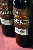Vinos de Madrid, reserva 2001.