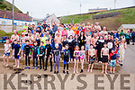 At the Connie Harnett Memorial Swim in Ballybunion on New Year's Day