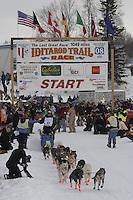 Jake Berkowitz Willow restart Iditarod 2008.