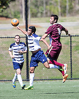 The College of Charleston Cougars played the  Georgia Southern Eagles in The Manchester Cup on April 5, 2014.  The Cougars won 2-0.  Trot Peterson (8), Mahdi Ali (11)