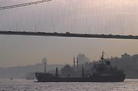 Europe/Turquie/Istanbul : Navigation sur le Bosphore et le pont vers l'Asie