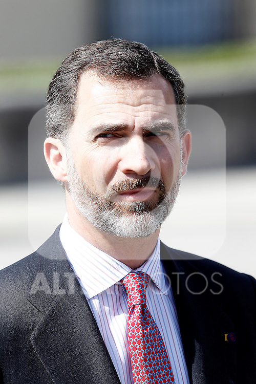 Prince Felipe of Spain attends the official reception of Imperial Highness the Crown Prince of Japan.June 10,2013. (ALTERPHOTOS/Acero)