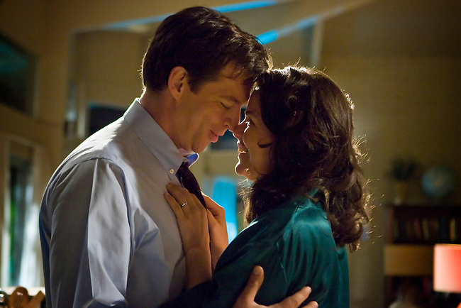 Harry Connick, Jr. as Dr. Dennis Slamon and Paula Cale Lisbe as Donna in Lifetime Television's 'Living Proof' - the inspiring true story of Dr. Dennis Slamon, a doctor who devoted his life to finding a treatment for breast cancer.