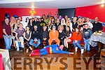 Damien Burke from Killarney celebrated his 30th birthday surrounded by friends and family in the K Town Bar, Killarney last Saturday night.