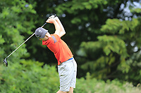 Evan Meehan (Ballybunion) during the Connacht U14 Boys Amateur Open, Ballinasloe Golf Club, Ballinasloe, Galway,  Ireland. 10/07/2019<br /> Picture: Golffile | Fran Caffrey<br /> <br /> <br /> All photo usage must carry mandatory copyright credit (© Golffile | Fran Caffrey)
