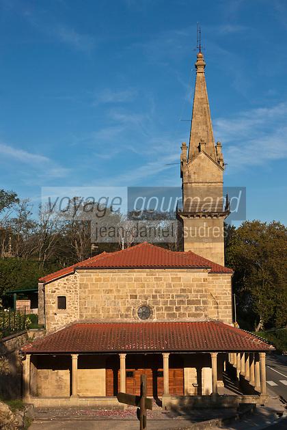 Europe/Espagne/Pays Basque/Guipuscoa/Fontarrabie: Le sanctuaire de la Vierge de Guadalupe, patronne de Fontarabie,