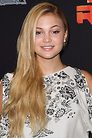 "CENTURY CITY, CA, USA - SEPTEMBER 27: Olivia Holt arrives at the Los Angeles Screening Of Disney XD's ""Star Wars Rebels: Spark Of Rebellion"" held at the AMC Century City 15 Theatre on September 27, 2014 in Century City, California, United States. (Photo by Celebrity Monitor)"