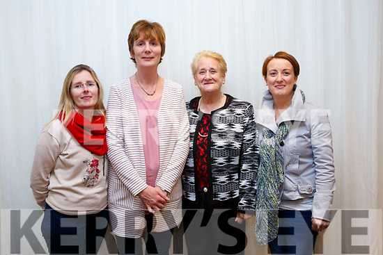 Tidy Towns awards at the Rose Hotel on Monday. Winner in best estates  category were Killeen Heights Estate Marie Dooey, Brenda O'Connell, Ina Lynch and Siobhan Lynch