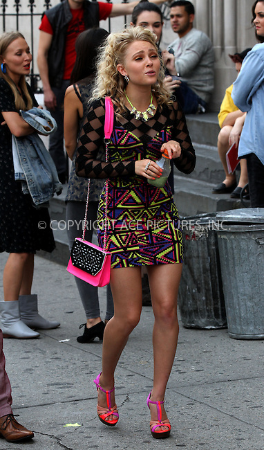 WWW.ACEPIXS.COM<br /> <br /> August 20 2013, New York City<br /> <br /> Actress AnnaSophia Robb on the Lower East Side set of the TV show 'The Carrie Diaries' on August 20 2013 in New York City<br /> <br /> By Line: Zelig Shaul/ACE Pictures<br /> <br /> <br /> ACE Pictures, Inc.<br /> tel: 646 769 0430<br /> Email: info@acepixs.com<br /> www.acepixs.com