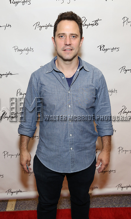 Oliver Butler attends the Opening Night Performance of the Playwrights Horizons world premiere production of 'Log Cabin' on June 25, 2018 at Playwrights Horizons in New York City.