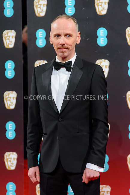 www.acepixs.com<br /> <br /> February 12 2017, London<br /> <br /> Ewen Bremner arriving at the 70th EE British Academy Film Awards (BAFTA) at the Royal Albert Hall on February 12, 2017 in London, England<br /> <br /> By Line: Famous/ACE Pictures<br /> <br /> <br /> ACE Pictures Inc<br /> Tel: 6467670430<br /> Email: info@acepixs.com<br /> www.acepixs.com