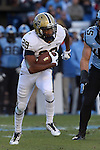 15 November 2014: Pitt's Rachid Ibrahim. The University of North Carolina Tar Heels hosted the University of Pittsburgh Panthers at Kenan Memorial Stadium in Chapel Hill, North Carolina in a 2014 NCAA Division I College Football game. UNC won the game 40-35.