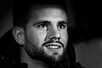 Nacho Fernandez of Real Madrid looks on prior to the Copa del Rey 2017-18 match between CD Leganes and Real Madrid at Estadio Municipal Butarque on 18 January 2018 in Leganes, Spain. Photo by Diego Gonzalez / Power Sport Images