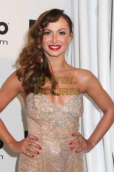 WEST HOLLYWOOD, CA - MARCH 2: Karina Smirnoff attending the 22nd Annual Elton John AIDS Foundation Academy Awards Viewing/After Party in West Hollywood, California on March 2nd, 2014.  <br /> CAP/MPI/mpi99<br /> &copy;mpi99/MediaPunch/Capital Pictures