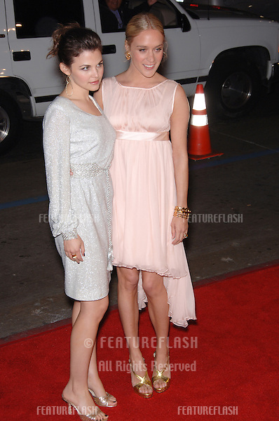 GINNIFER GOODWIN (left) & CHLOE SEVIGNY at the Los Angeles premiere of their new HBO TV series Big Love..February 23, 2006  Los Angeles, CA.© 2006 Paul Smith / Featureflash