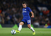 12th September 2017, Stamford Bridge, London, England; UEFA Champions League Group stage, Chelsea versus Qarabag FK; Cesar Azpilicueta of Chelsea in action